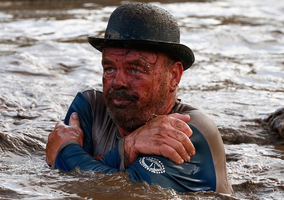 tough guy bowler hat