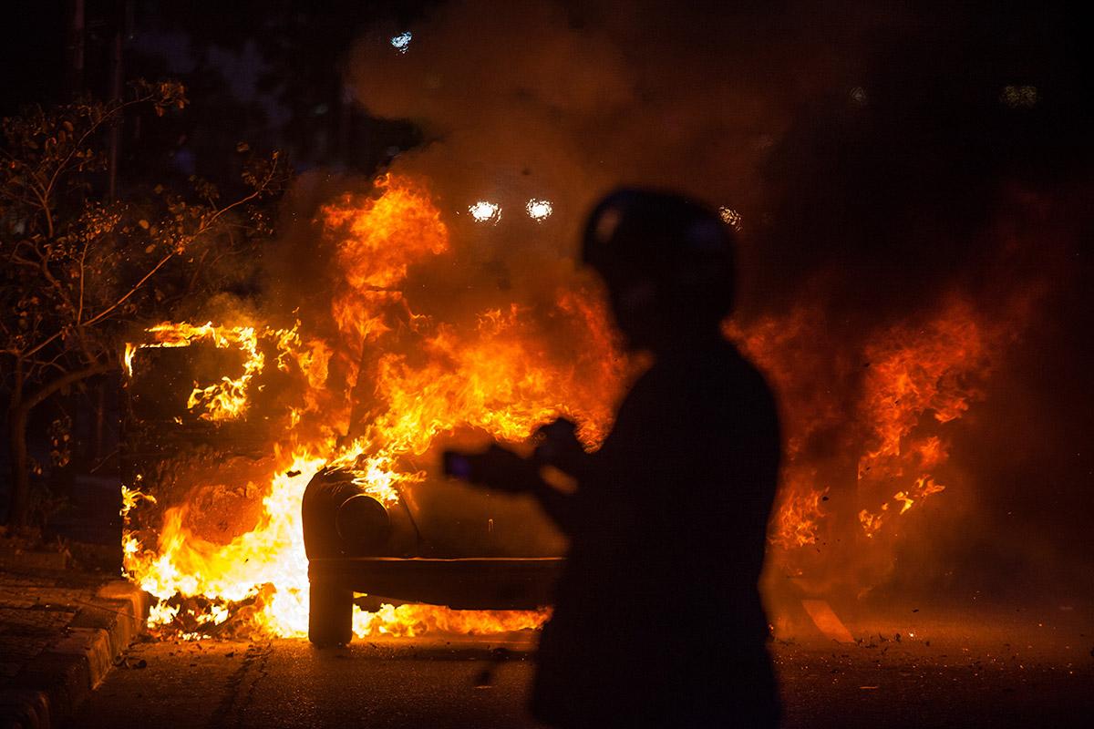 beetle burning