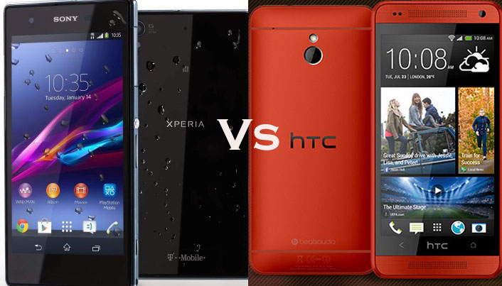 Sony Xperia Z1 Compact vs HTC One Mini