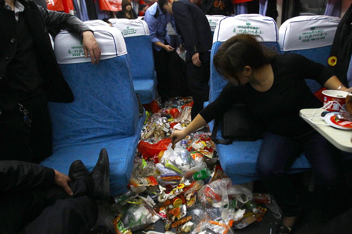 travel rubbish