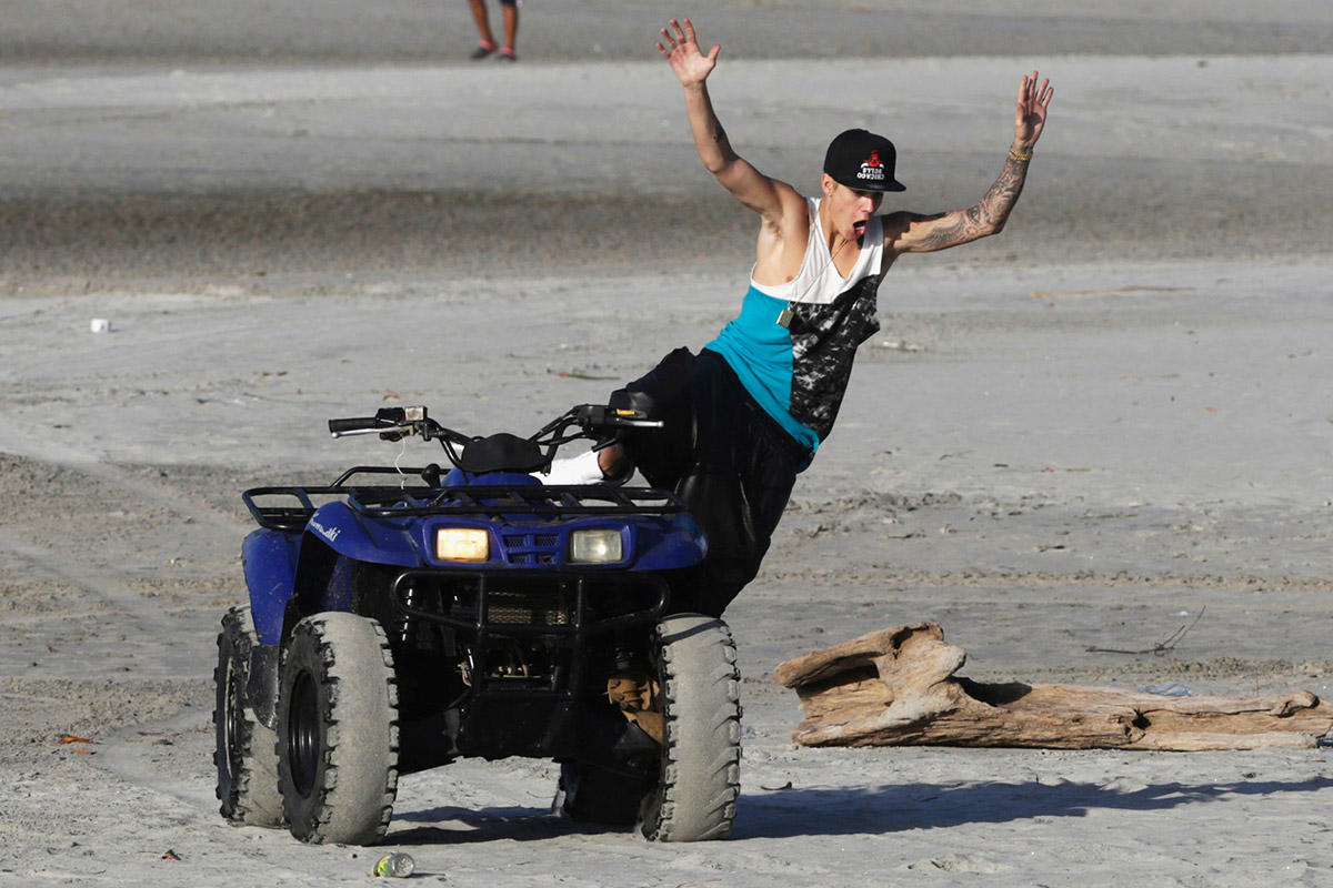 bieber quad bike panama