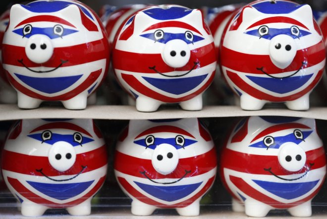 UK piggy bank