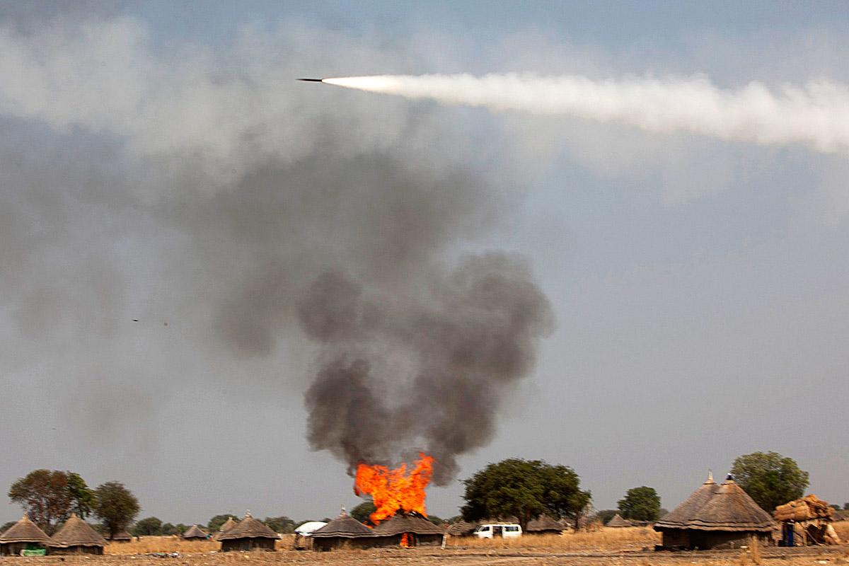 sudan rocket