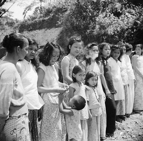Comfort girls in Japan