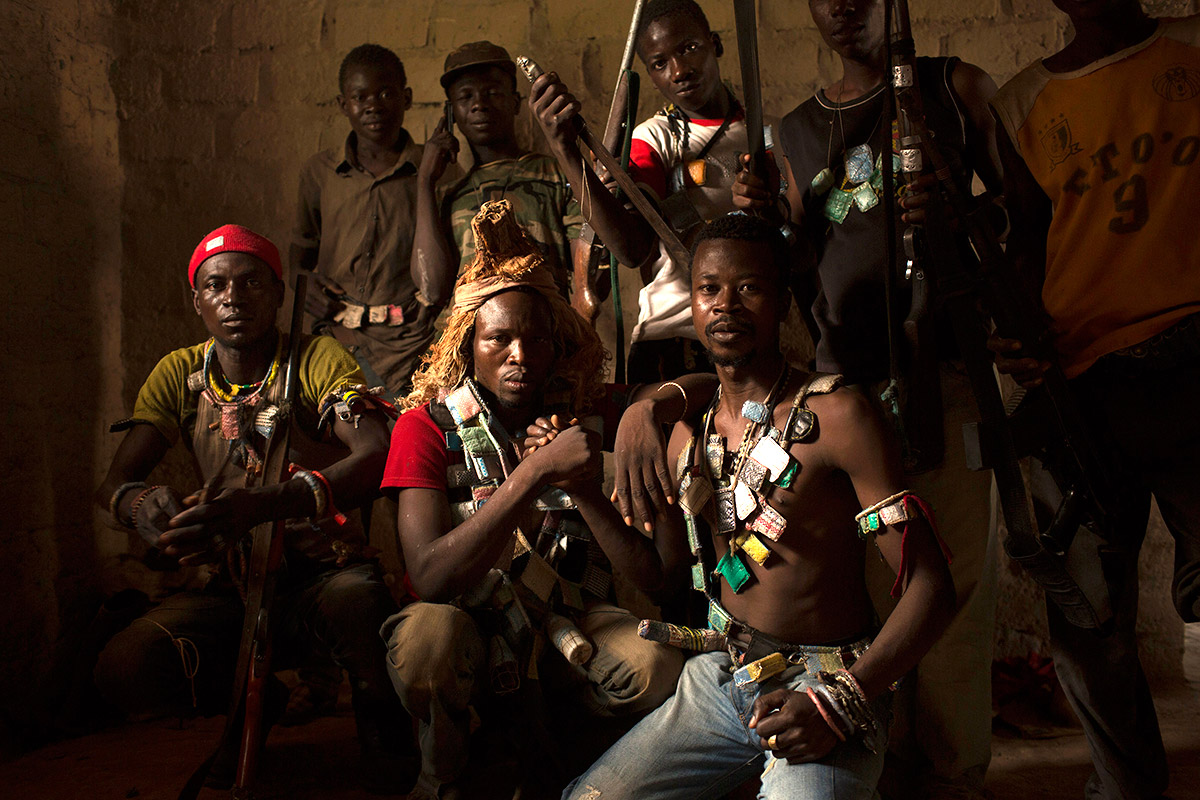 anti balaka fighters