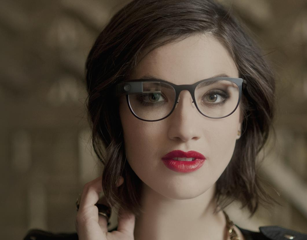 Google Glass frame and prescription lenses