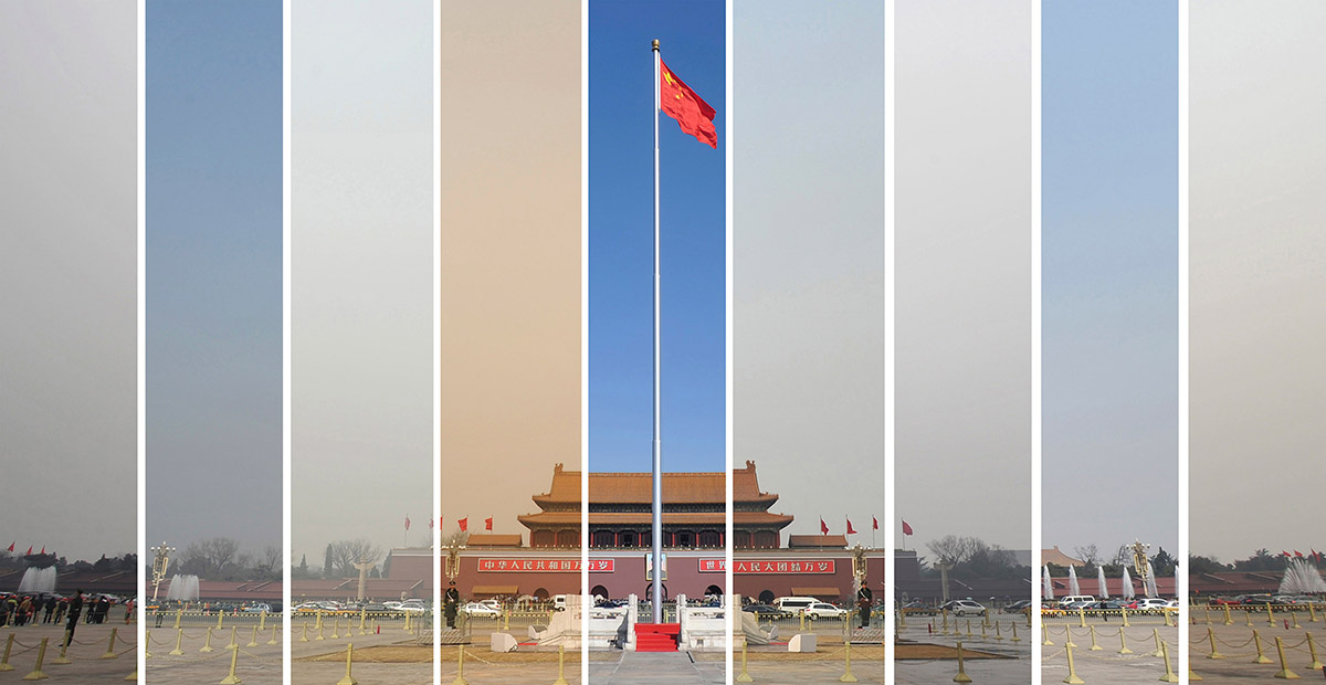 How Many Of China S 74 Major Cities Failed To Meet Air Quality Standards