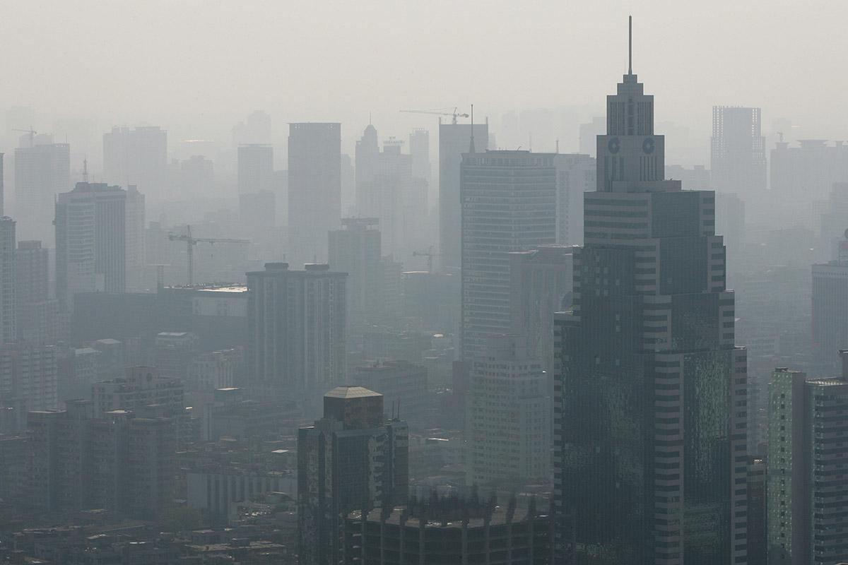 guangzhou haze