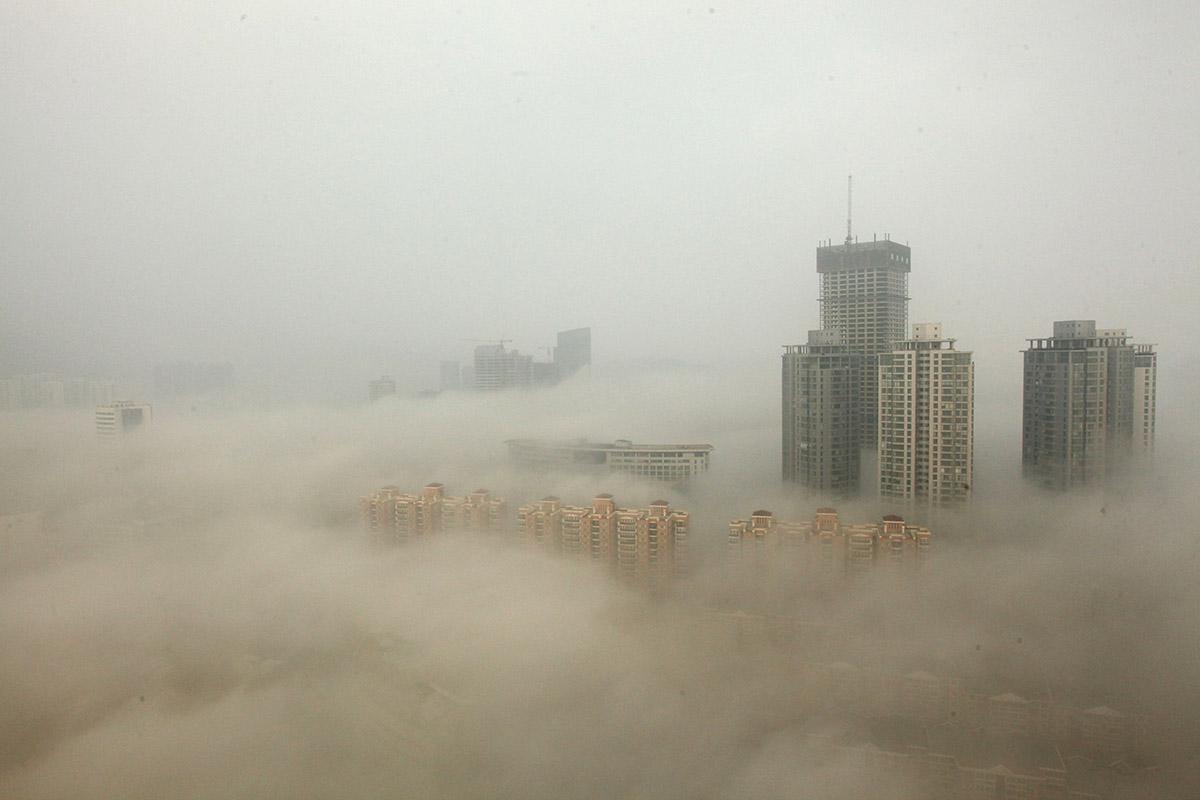 Lianyungang smog
