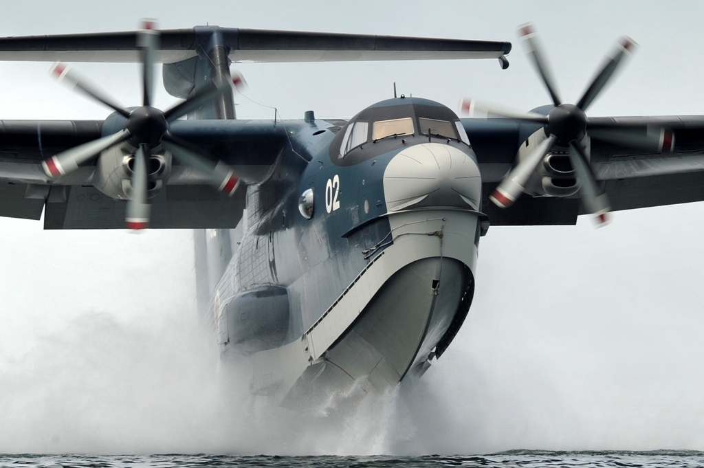 Japan's US-2 Amphibious Aircraft