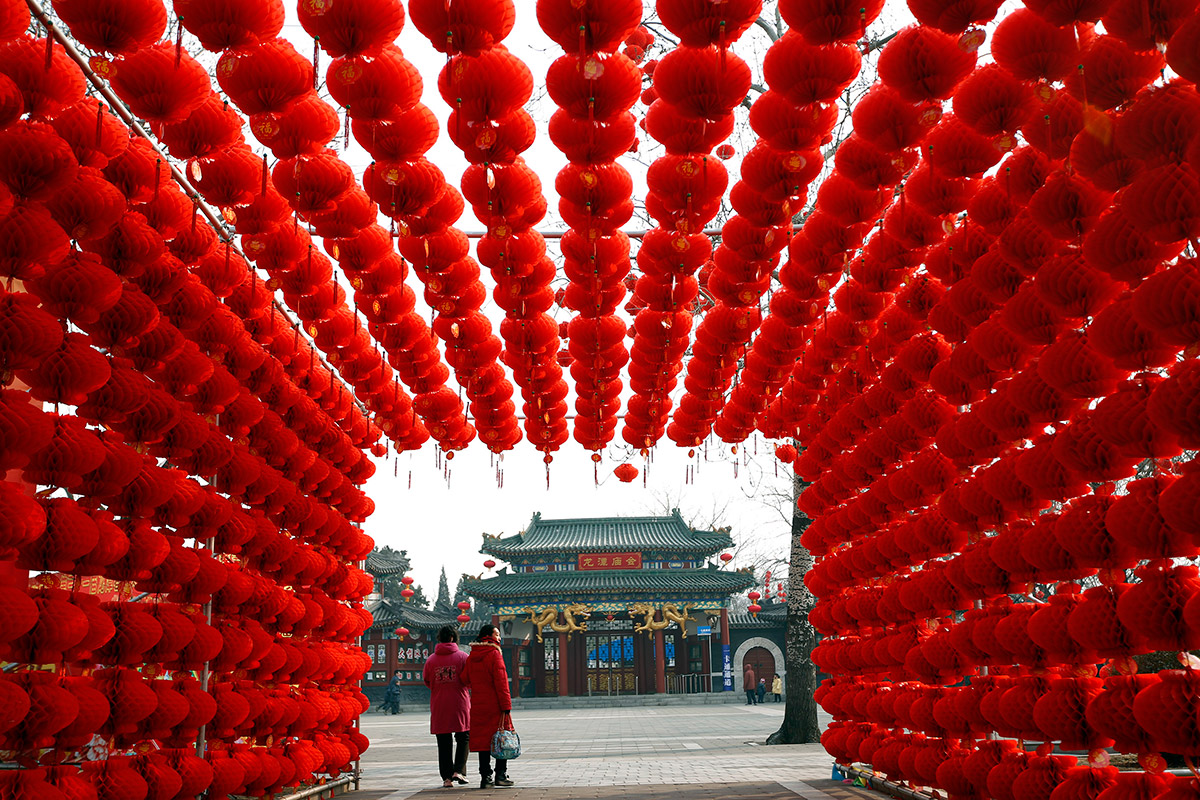 Chinese New Year 2014: Colourful Pictures as Year of the ...