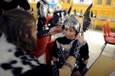up helly aa child