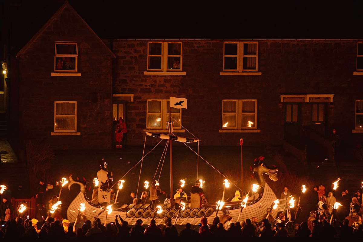 up helly aa long boat house