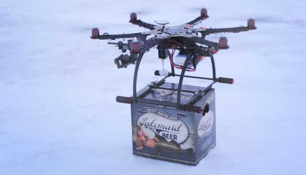 Lakemaid Beer Drone