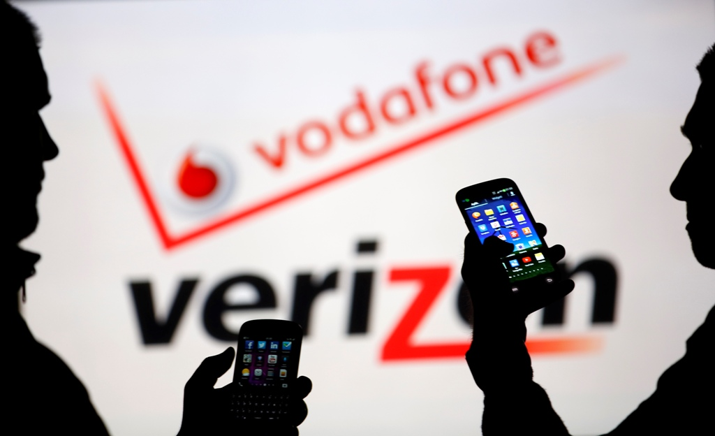 Vodafone Verizon Logos