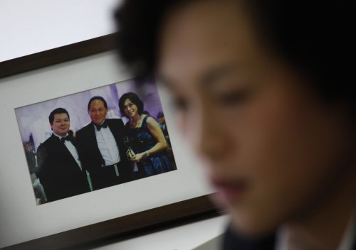 Gigi Chao is frustrated with repeated bids by her father Cecil Chao to marry her to a man