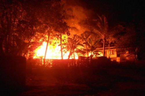 Fire in Du Char Yar Tan