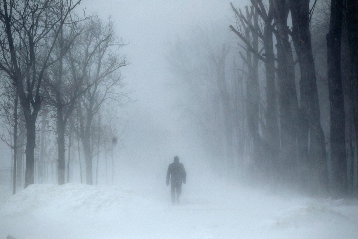 blizzard man