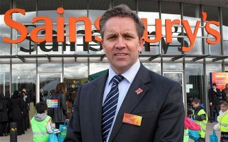Sainsbury's Shares Drop on CEO Justin King's Resignation
