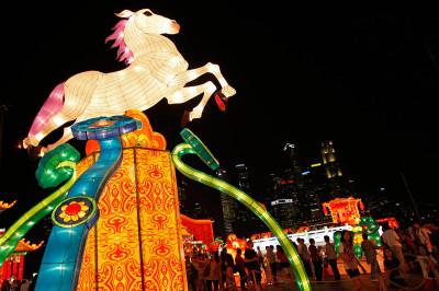 singapore horse