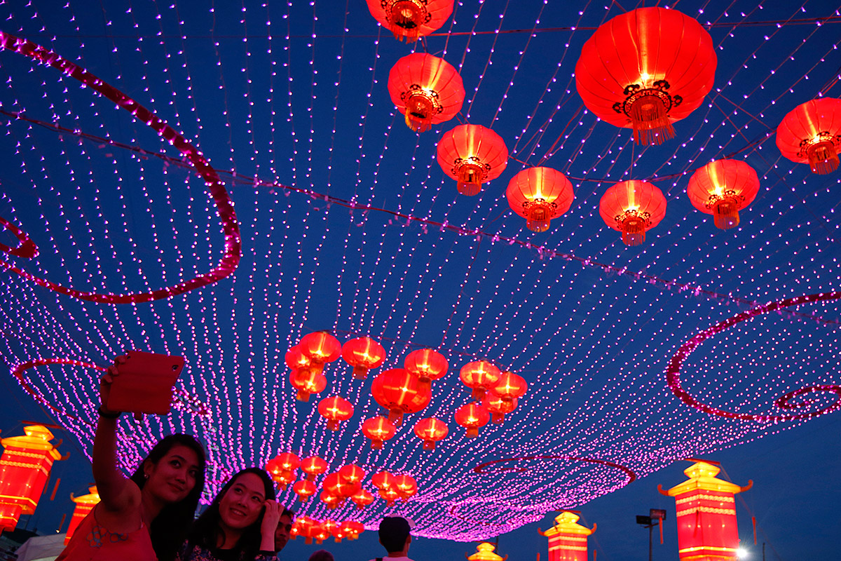 Chinese New Year 2014: Colourful Pictures as Year of the Horse ...