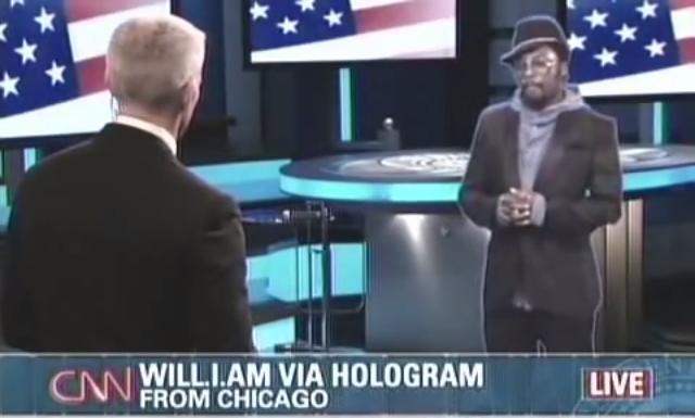 Will.i.am Hologram