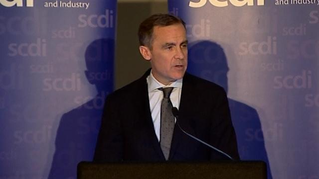 Carney Warns of Risks for Independent Scotland