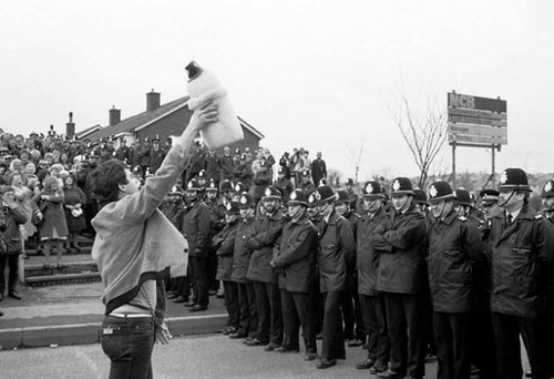 The miners strike brought civil unrest to Britain as Margaret Thatcher's government and the NUM clashed over pit closures