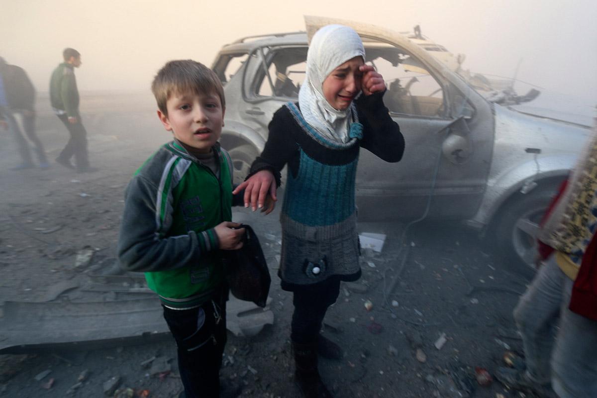 syria kids