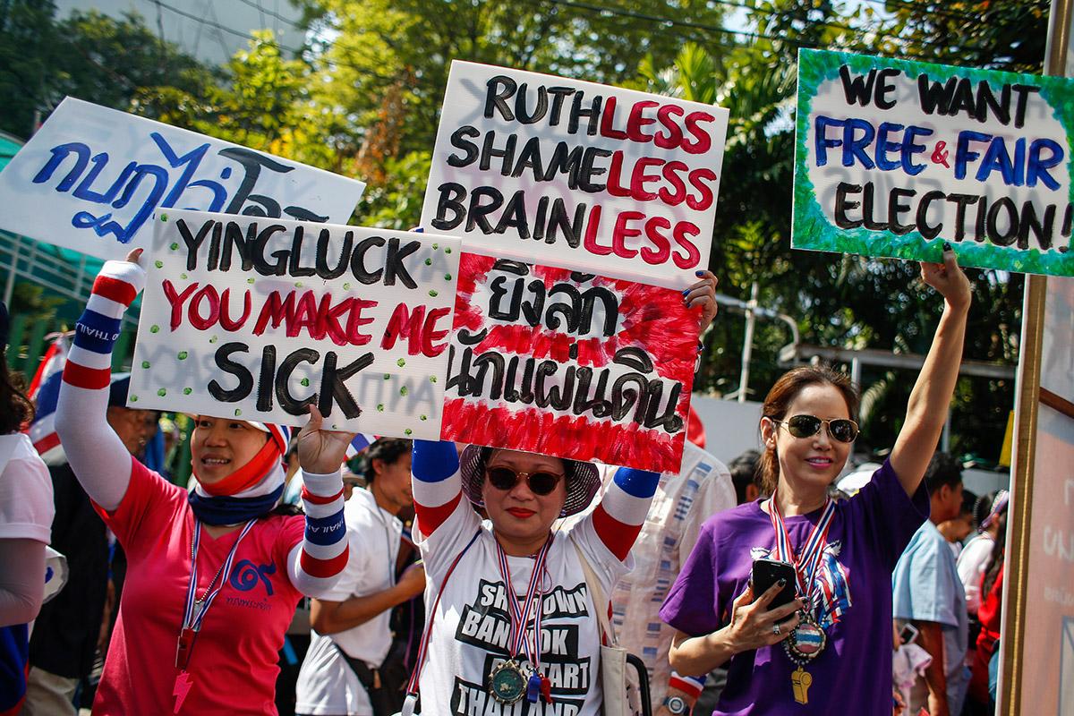 thai placards