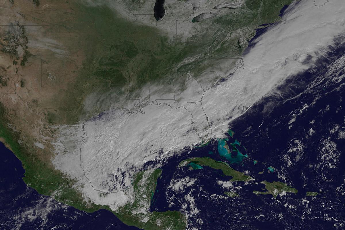 US weather satellite