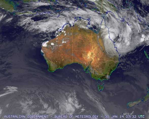 tropical cyclone dylan