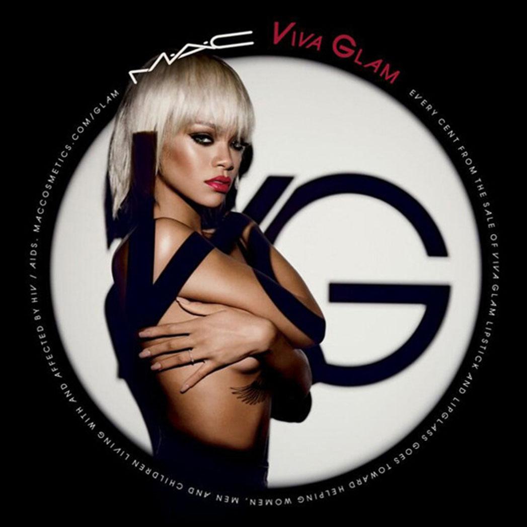 Rihanna MAC Viva Glam campaign
