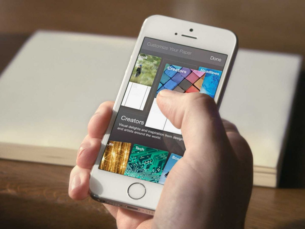 Facebook Paper - a new news-reading app to challenge Reddit, Flipboard and Pocket