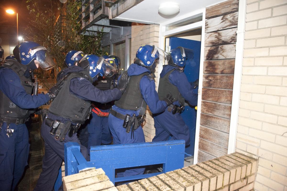 Met police raid