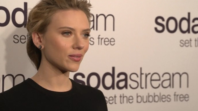 Scarlett Johansson Resigns From Oxfam Over SodaStream