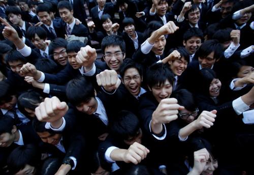 College Students Tokyo Japan