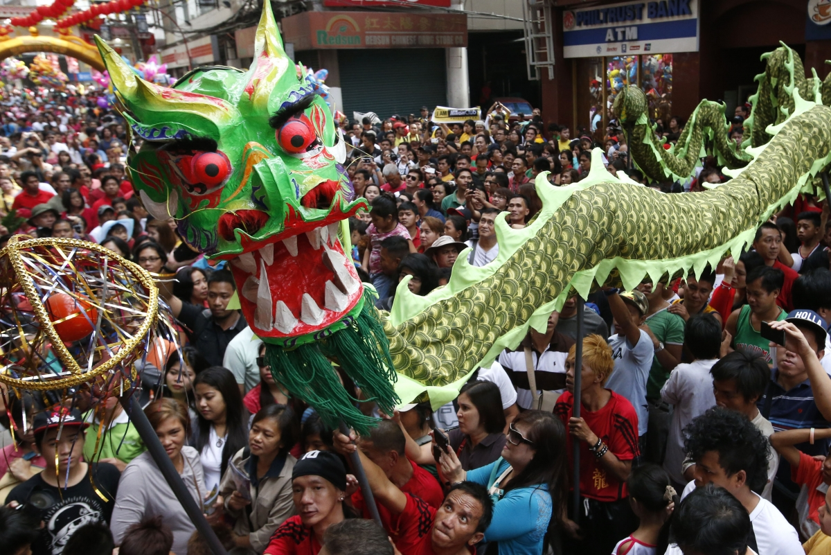 Chinese New Year 2014: Fierce Battles and Volcanoes ...