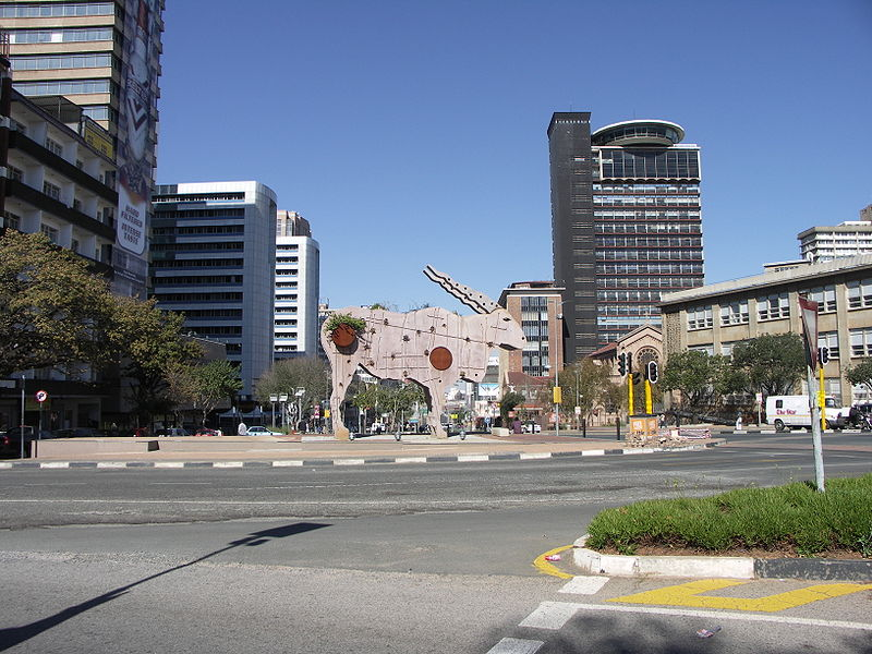 Braamfontein is in the process of becoming gentrified.