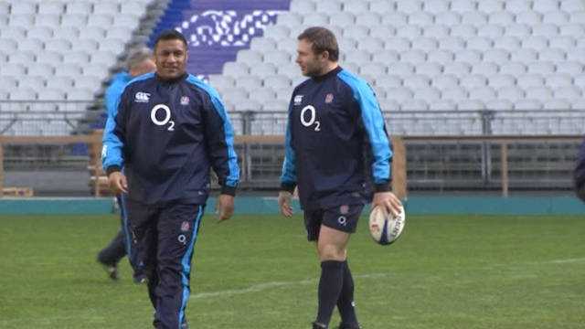 England Prepare For Six Nations Match Against France