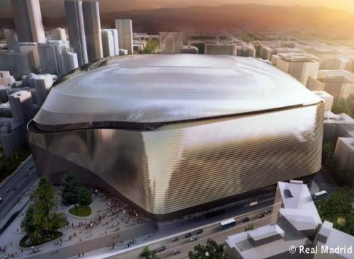 New design for Santiago Bernabeu features a roof and wraparound skin