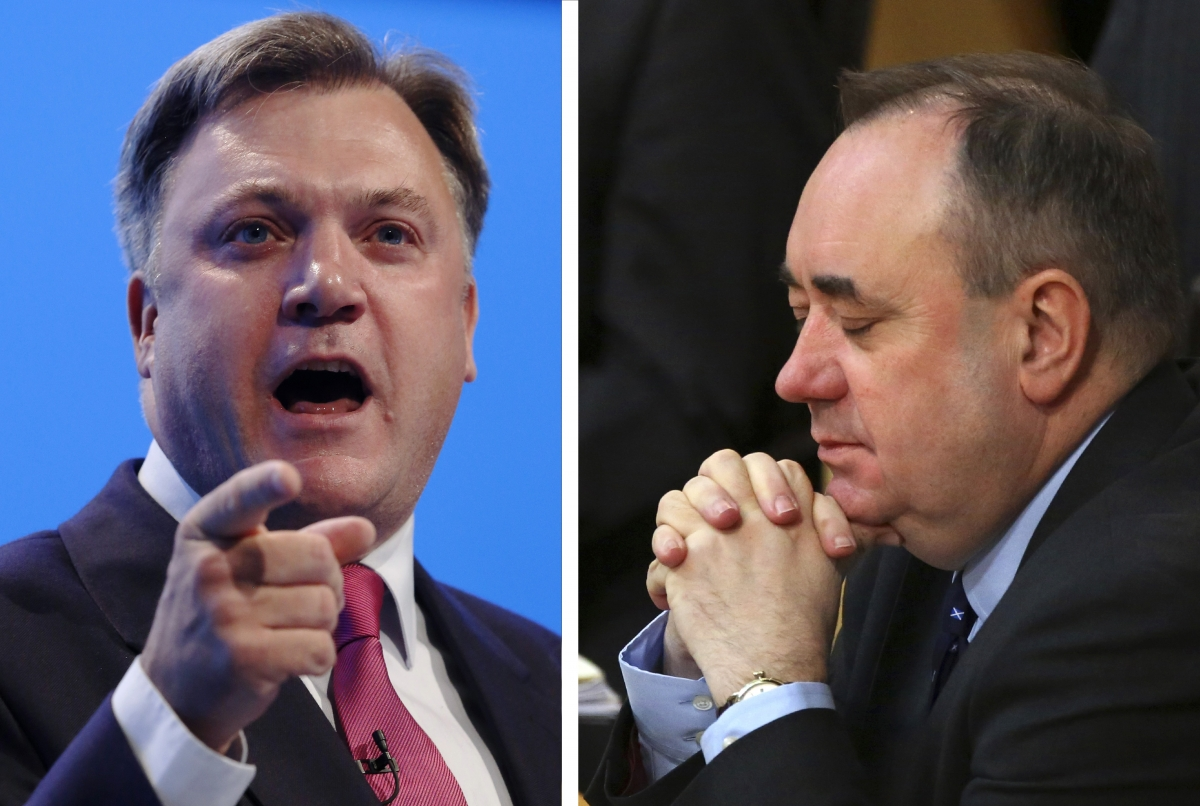 Ed Balls and Alex Salmond