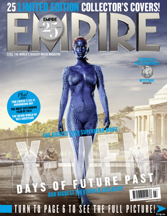 Jennifer Lawrence Empire Cover