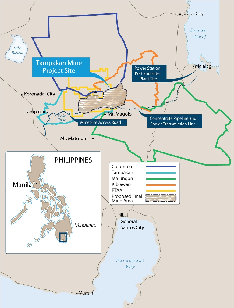 Tampakan Mine Project Site Philippines