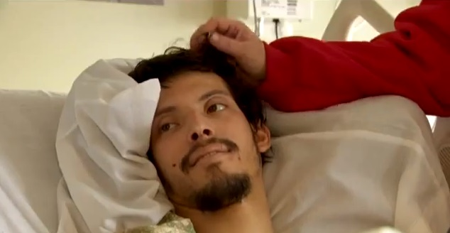 Frank Arce is recovering at PeaceHealth SW Washington Medical Center following his ordeal.