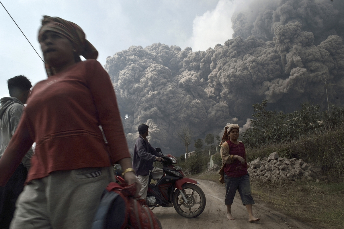 Indonesia volcanic eruption in pictures