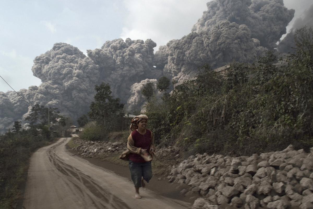 Indonesia volcanic eruption in pictures