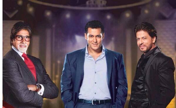 Amitabh Bachchan, Salman Khan and Shahrukh Khan