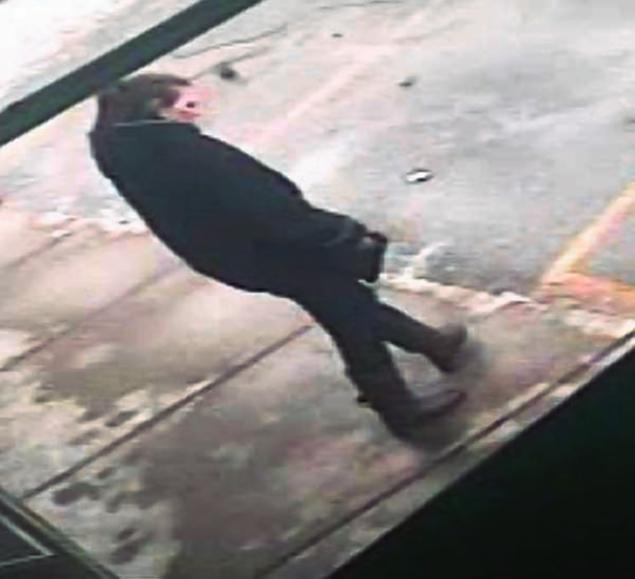 Surveillance camera footage of a woman police wanted to speak to in connection with the discovery of dismemebered body parts along a road near Detroit.