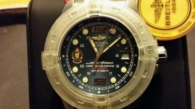 Breitling Super Ocean MI5 edition